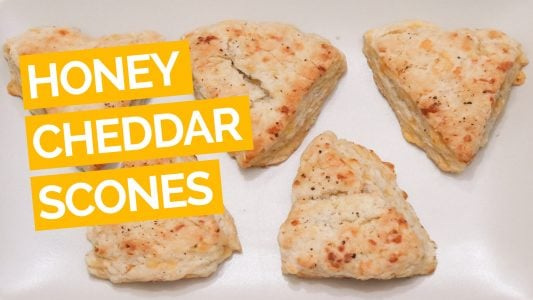 Honey & Cheddar Scones with Black Pepper_video_yellow