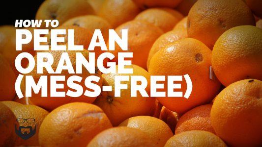 How to Peel an Orange (Mess-Free Method) Video
