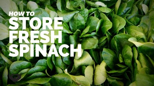 How to Store Fresh Spinach for Weeks video