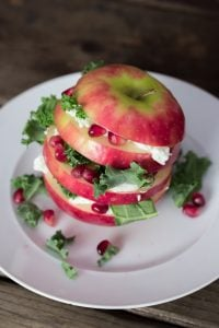 Apple Kale Pomegranate Salad 1 3