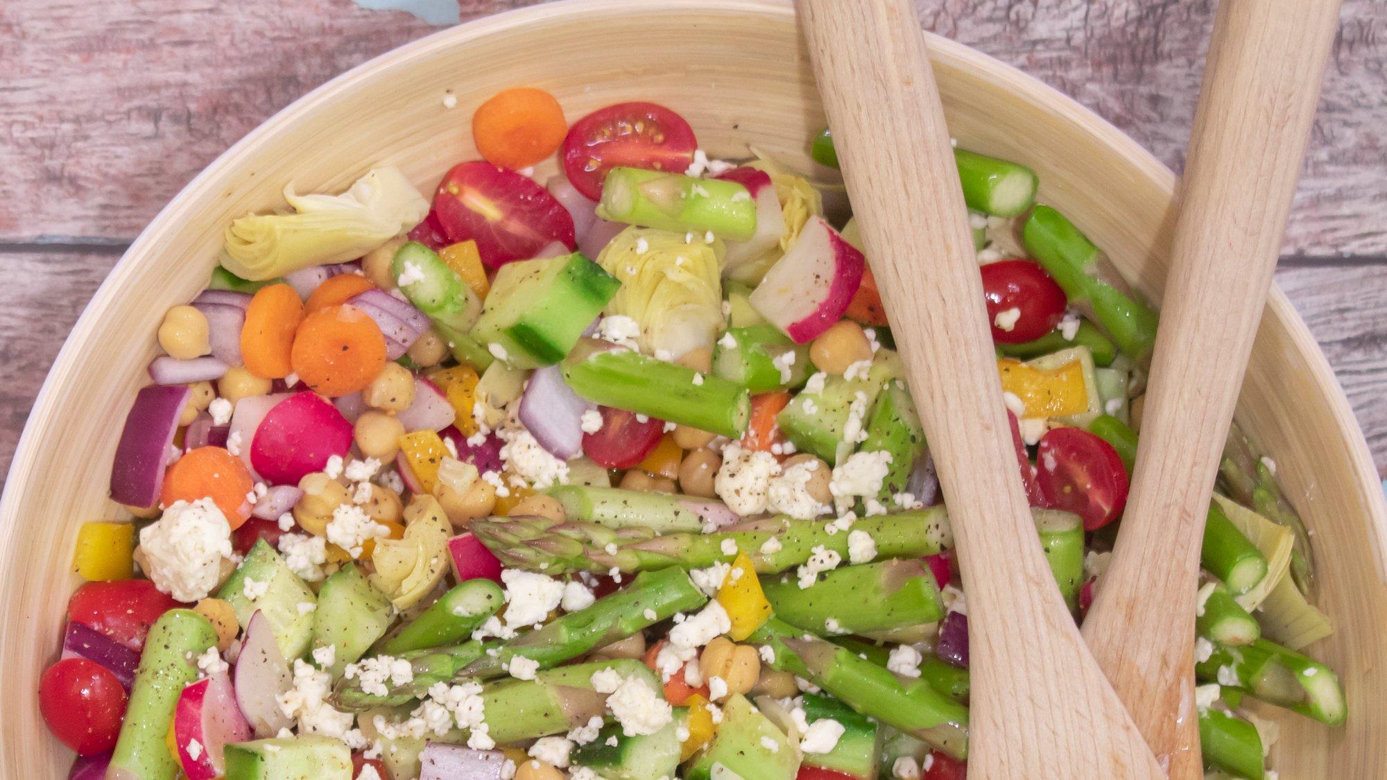 Asparagus Chopped Salad Recipe Main 1