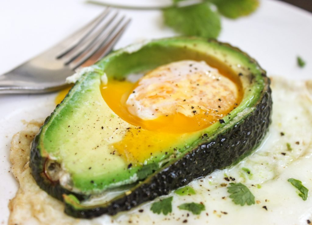 Avocado Fried Egg 2
