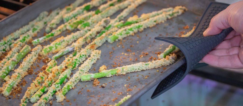 Baked Asparagus Fries 1