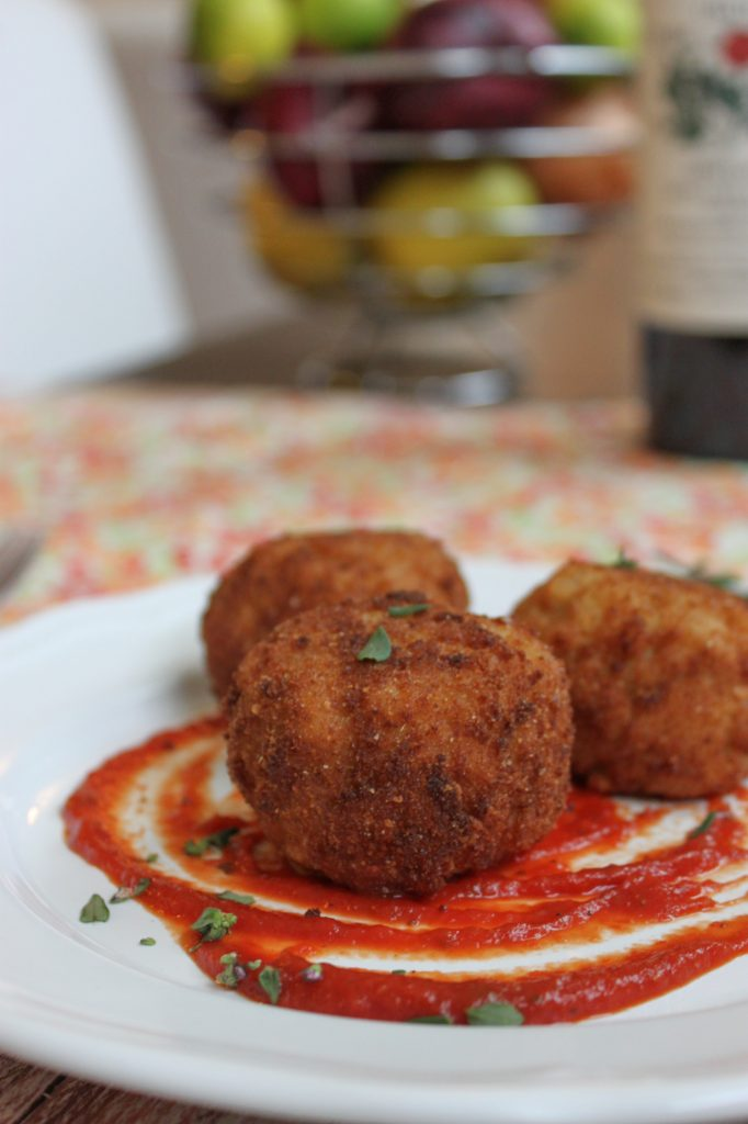 Beer and Gouda Risotto Balls Full 2