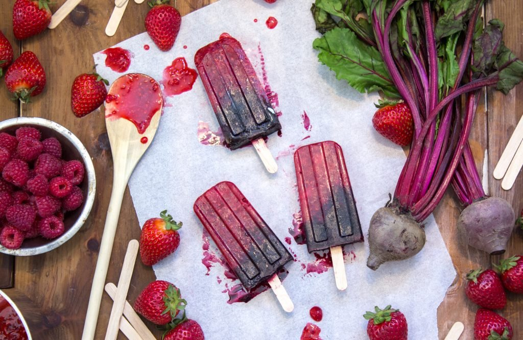 Beet Berries Popsicles 2 1