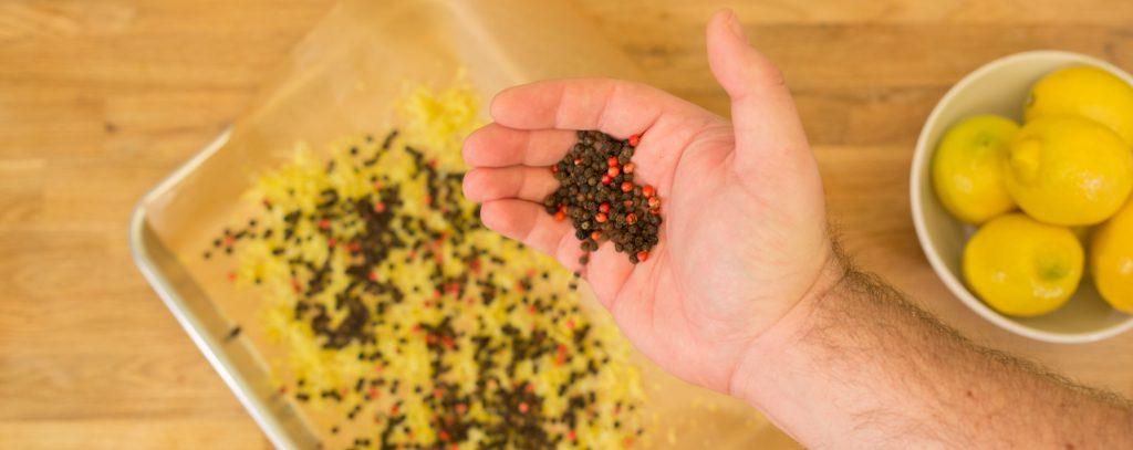 Black Peppercorns 1