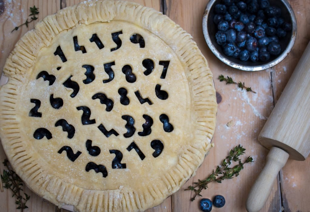 Blueberry Thyme Pie for Pi Day 2 3