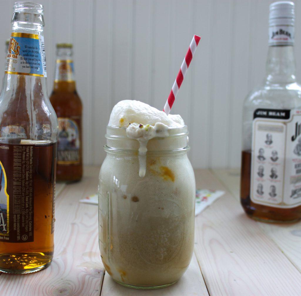 Bourbon and Butternut Squash Ice Cream Floats Full 2