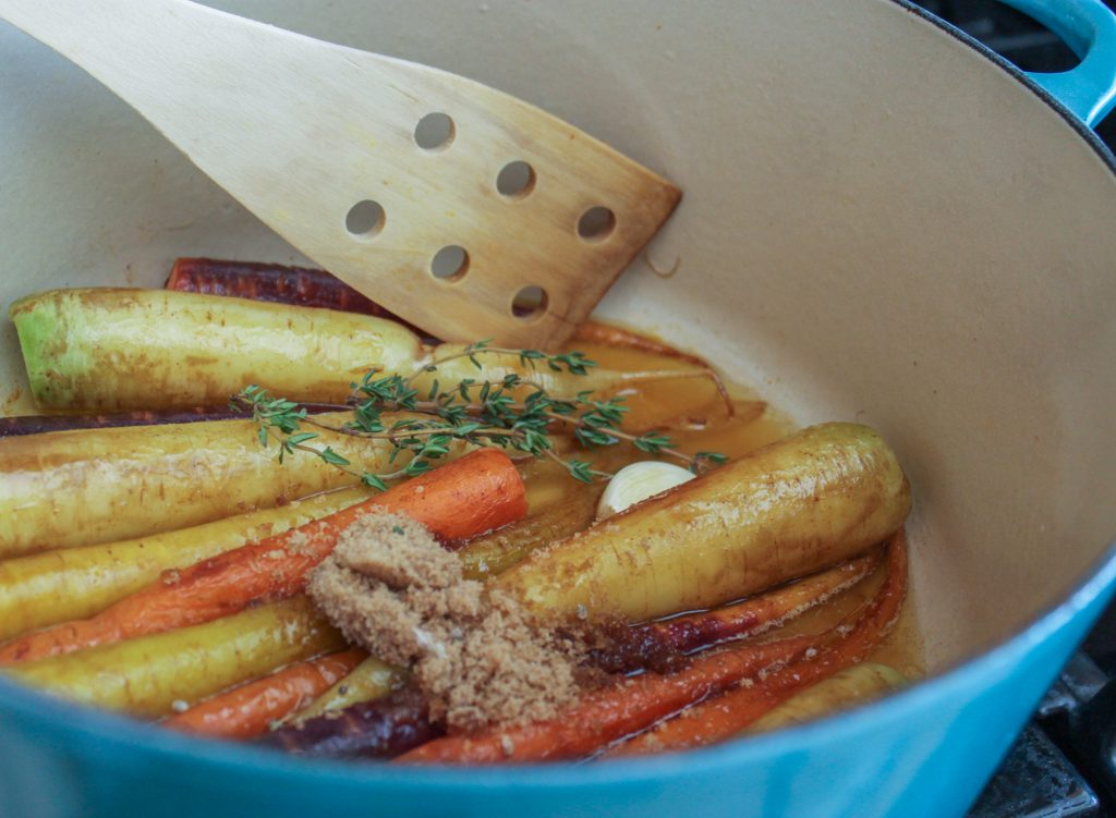 Braising Carrots 1