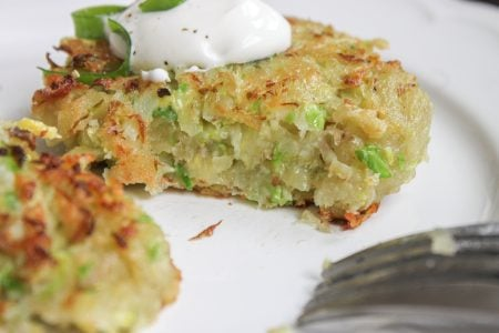 Brussels Sprout Latke 4