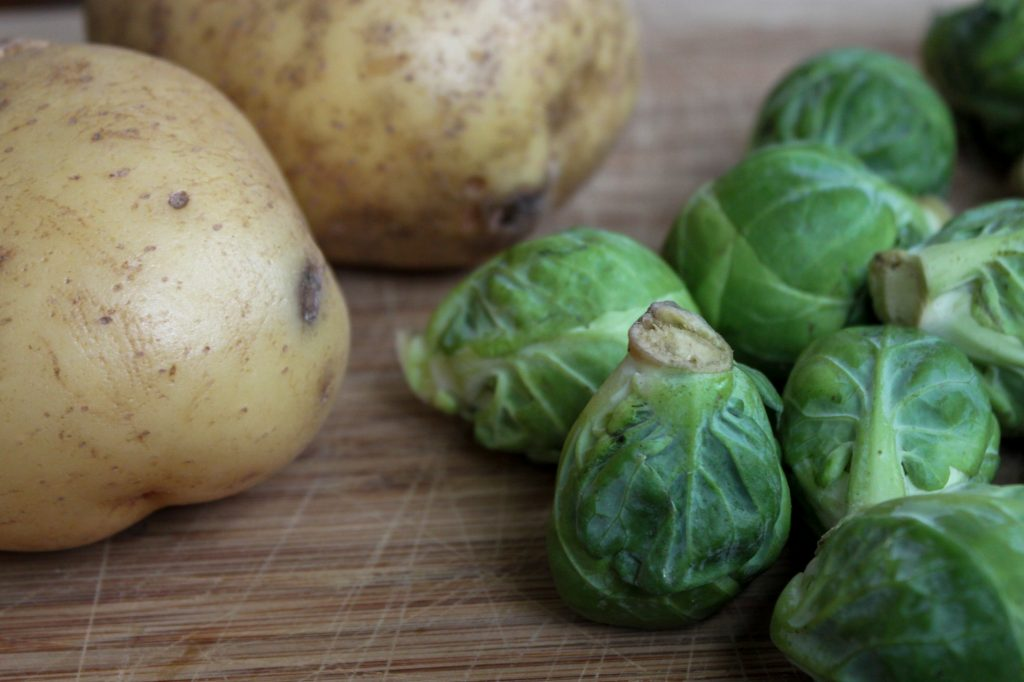 Brussels Sprouts and Potatoes 1