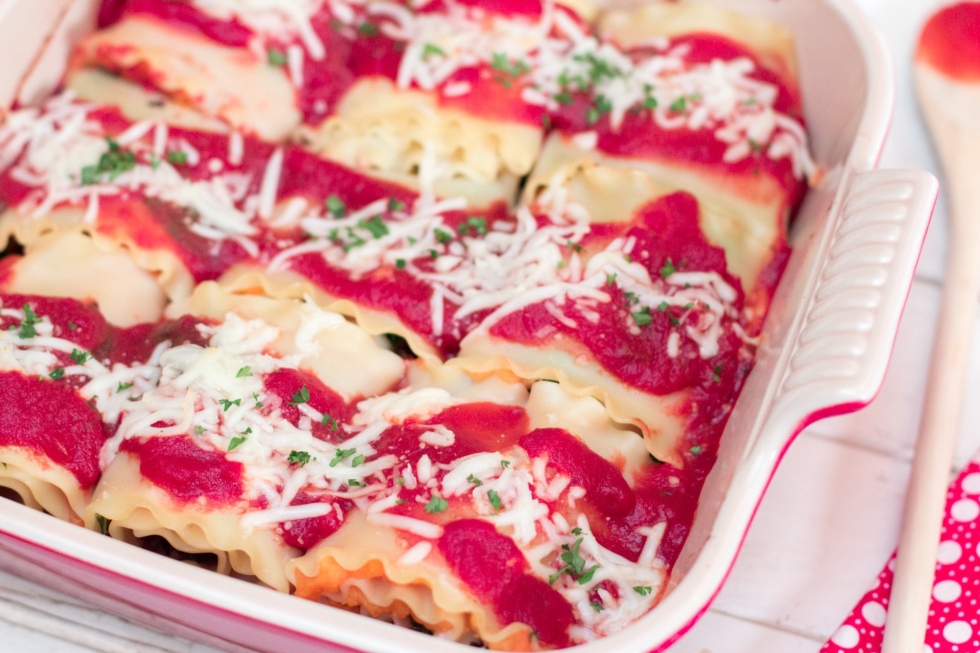 Butternut Squash Lasagna Rolls 1