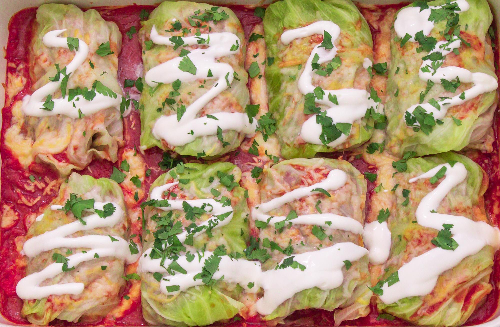 Cabbage Enchilada Rolls Recipe 3