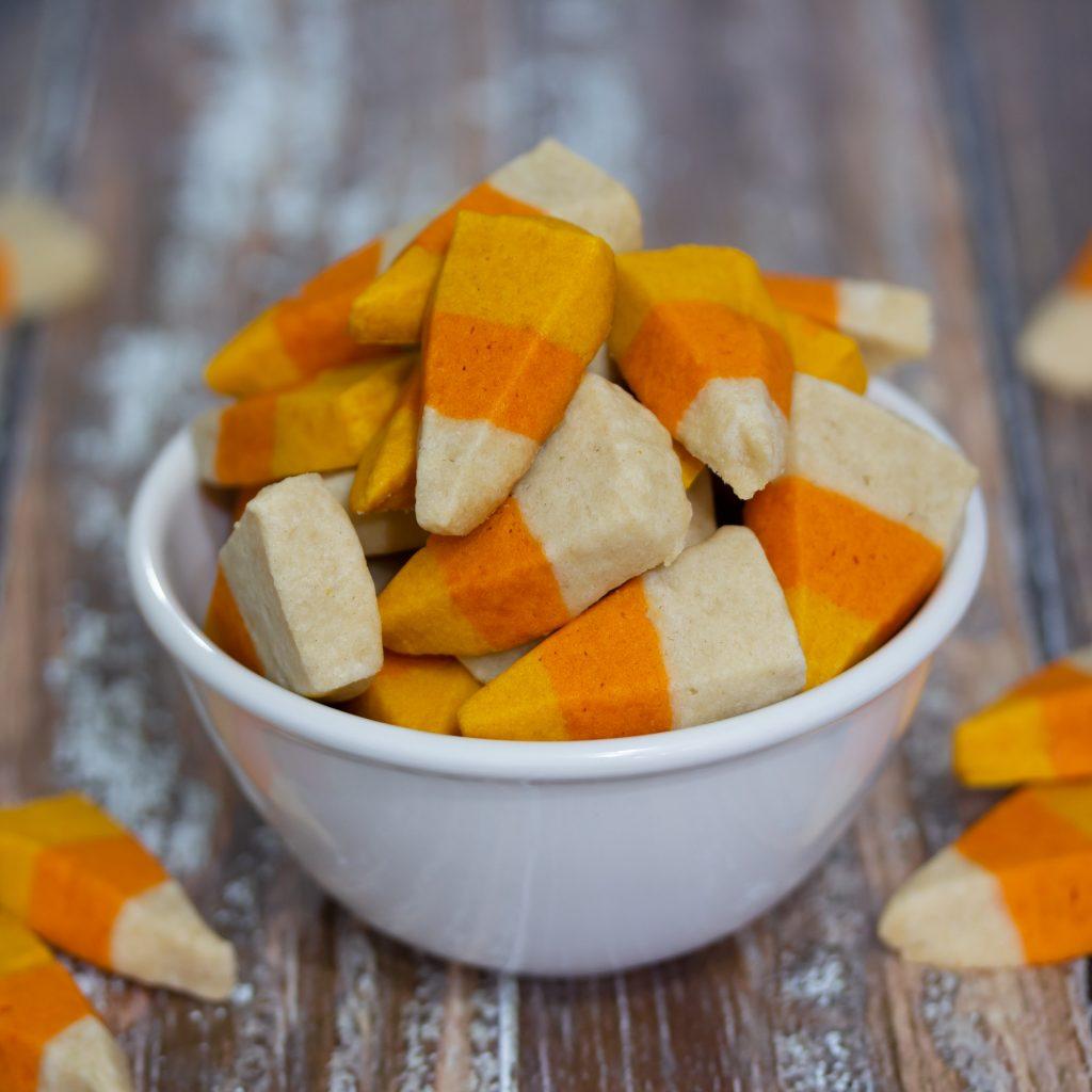 Candy Corn Sugar Cookies Halloween Recipe 1
