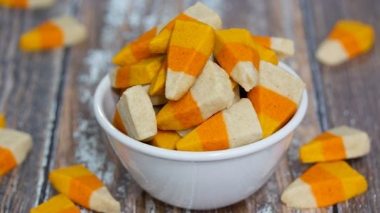 Candy Corn Sugar Cookies Halloween Recipe Main 1