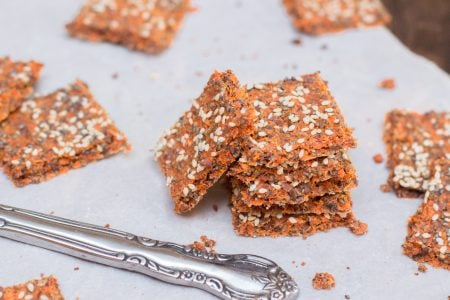 Carrot Juice Pulp Crackers 21 3