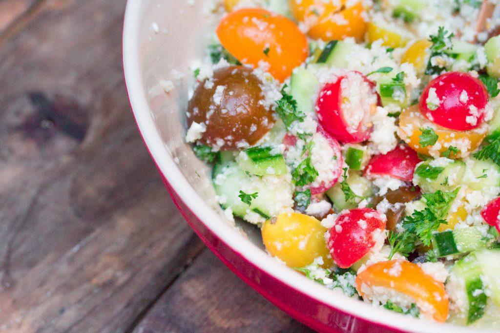 Cauliflower Rice Tabbouleh Salad 3 2