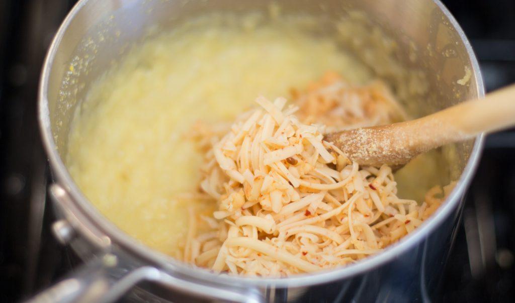 Cheesy Polenta 1