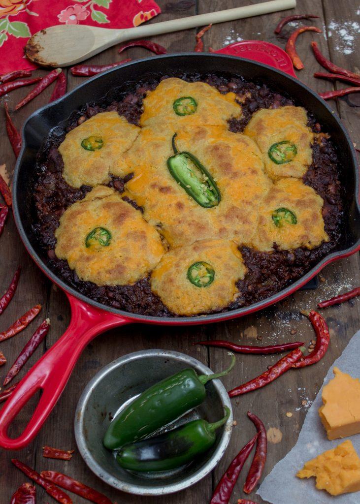 Chili with Cornbread 2