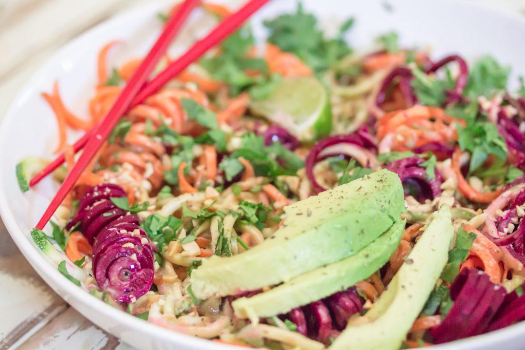 Chilled Thai Veggie Noodle Bowl Landscape 1