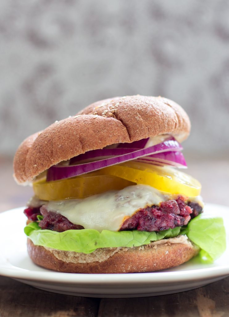 Chipotle Cherry Veggie Burger 2