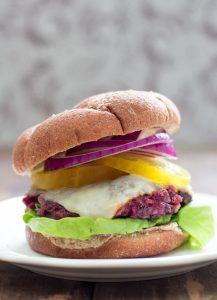Chipotle Cherry Veggie Burger 3