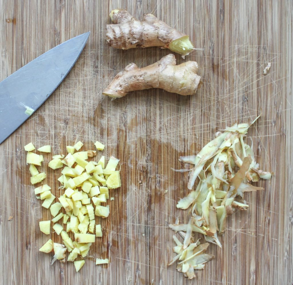 Chopped Ginger 1