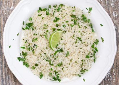 Cilantro Lime Rice with Avocado Oil Main 1