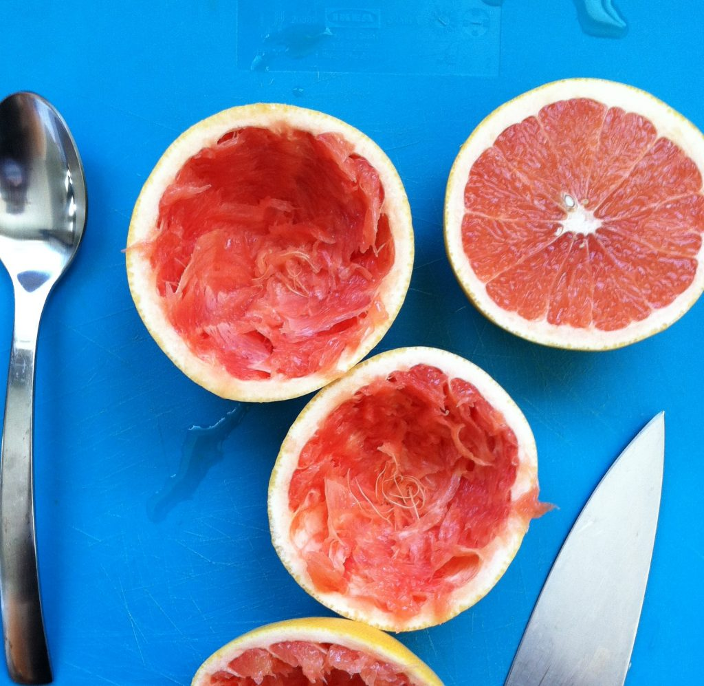 Cleaned Grapefruit 1