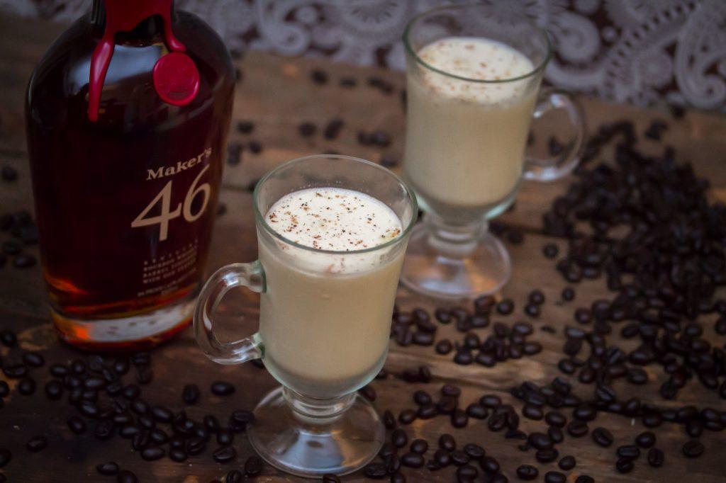 Coffee Infused Bourbon Eggnog 1