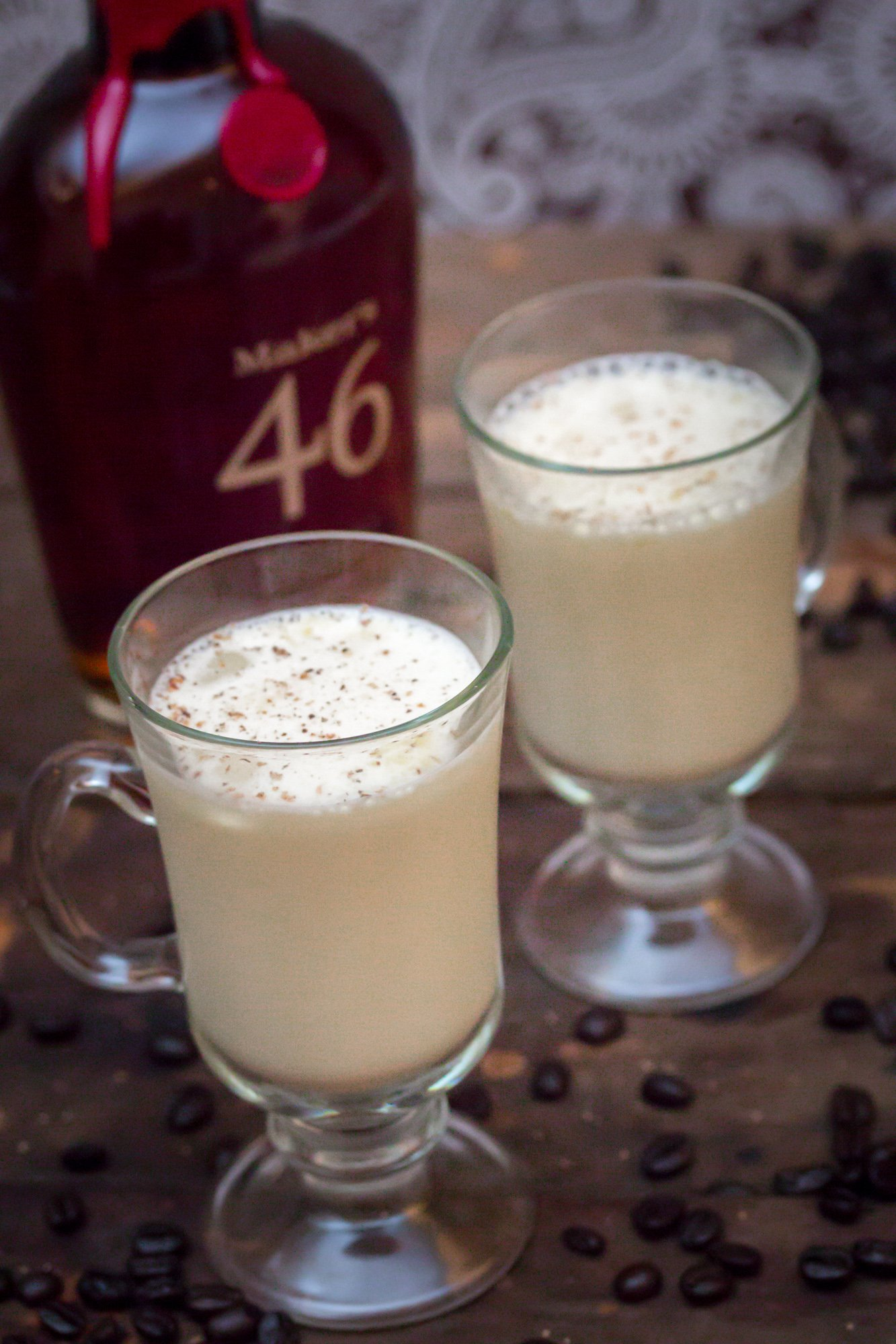 Coffee Infused Bourbon Eggnog 2 3