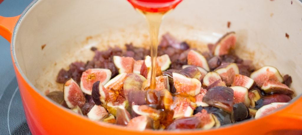 Cooking Figs and Onions 1