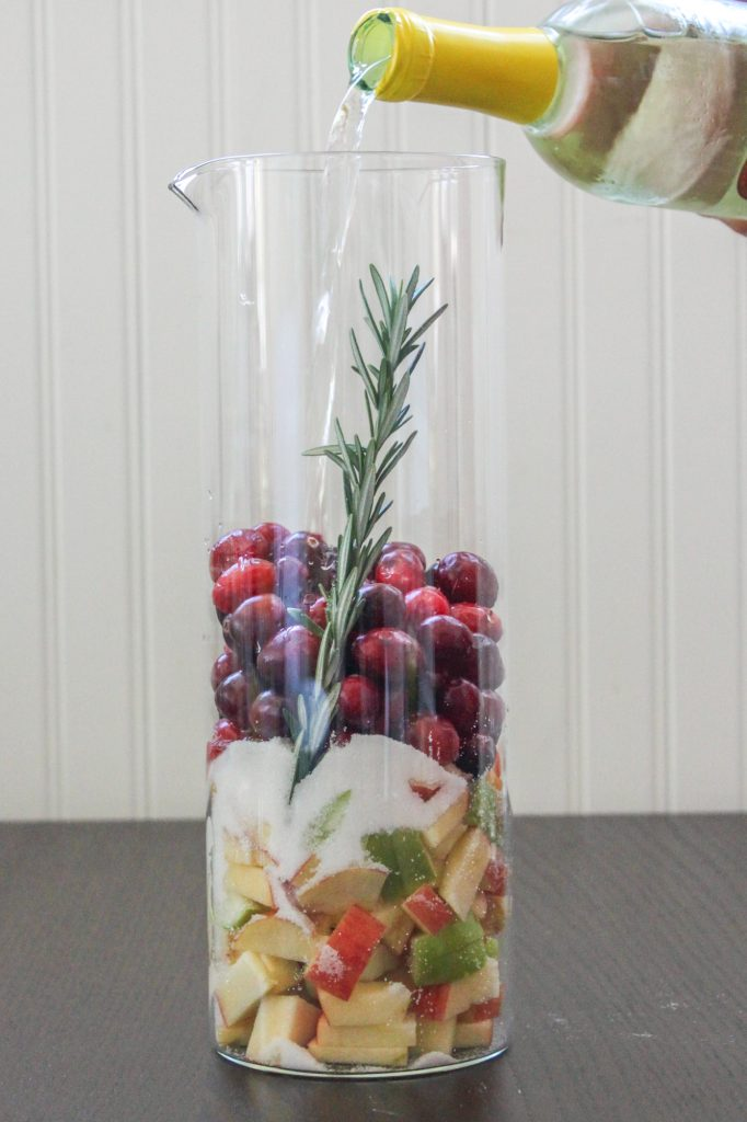 Cranberry Fruit Sangria 1