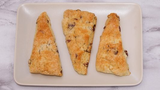 Cranberry Tangerine Buttermilk Scones 3