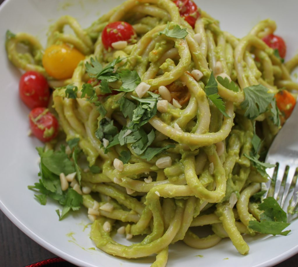 Creamy Avocado Pesto Recipe Full 1