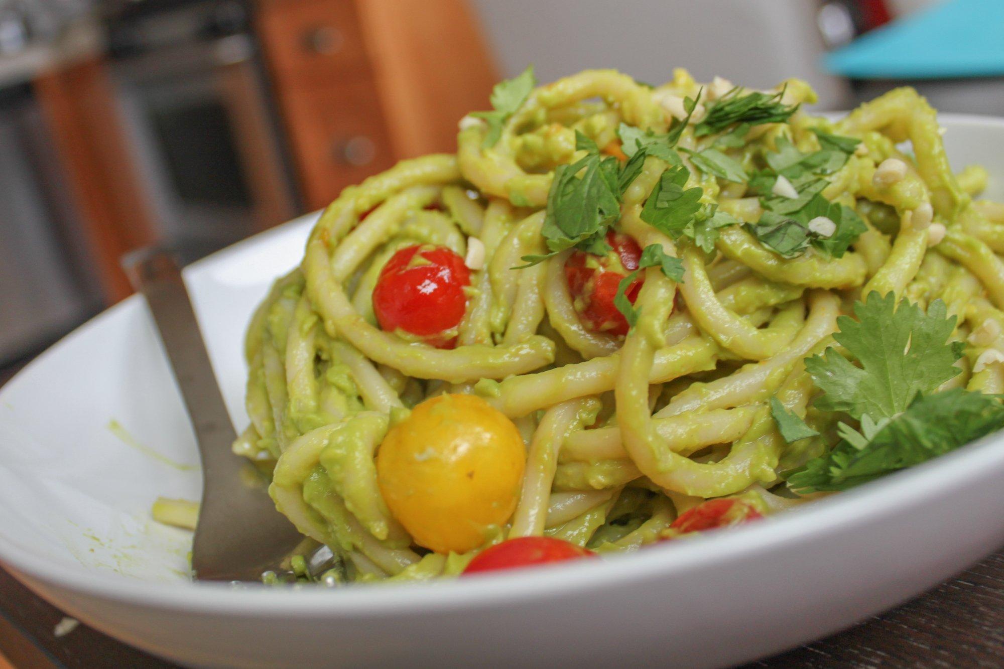 Creamy Avocado Pesto Recipe Main 1