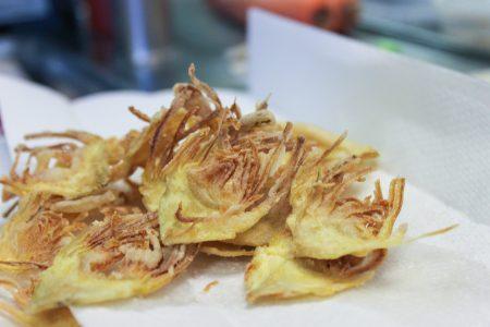 Crispy Artichoke Chips 3