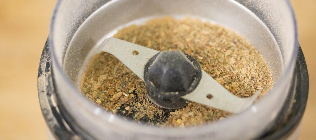 Crunchy Lentil Spices 1