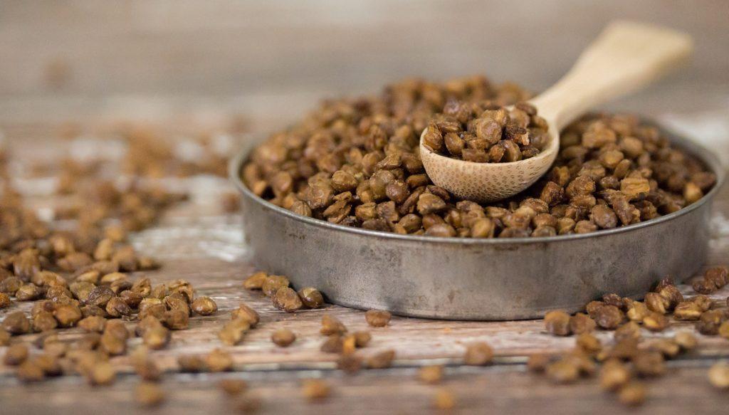 Crunchy Roasted Lentils 2