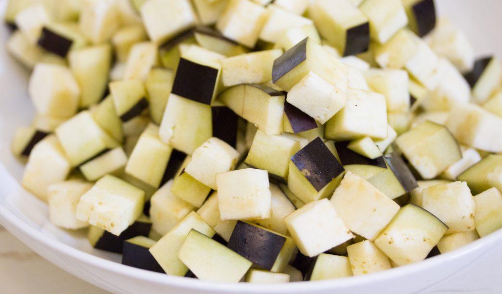 Cubed Eggplant 1