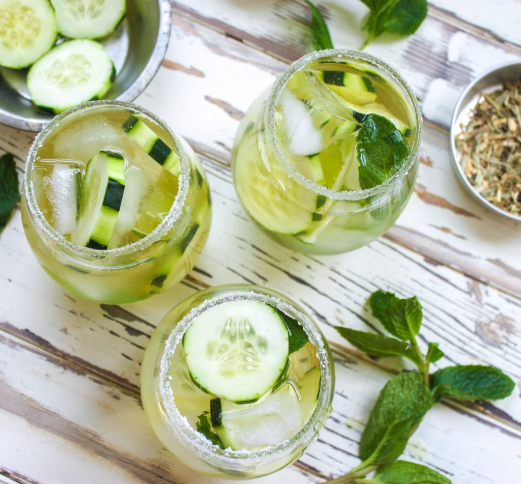 Cucumber Green Tea Mojito 1