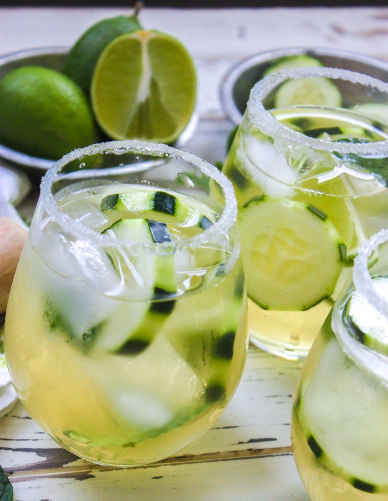 Cucumber Green Tea Mojito Full 1