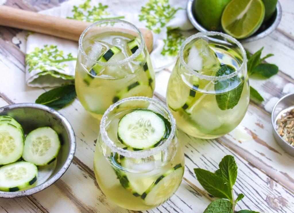 Cucumber Green Tea Mojito Main 2