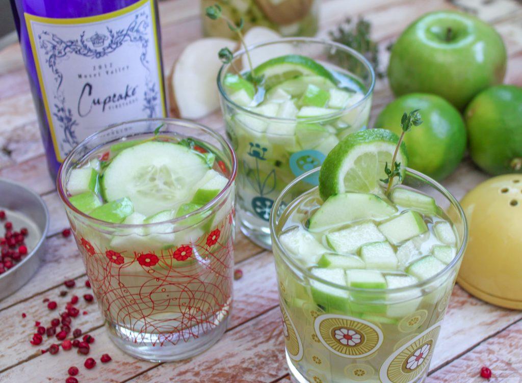 Cucumber Thyme Sangria 3 2