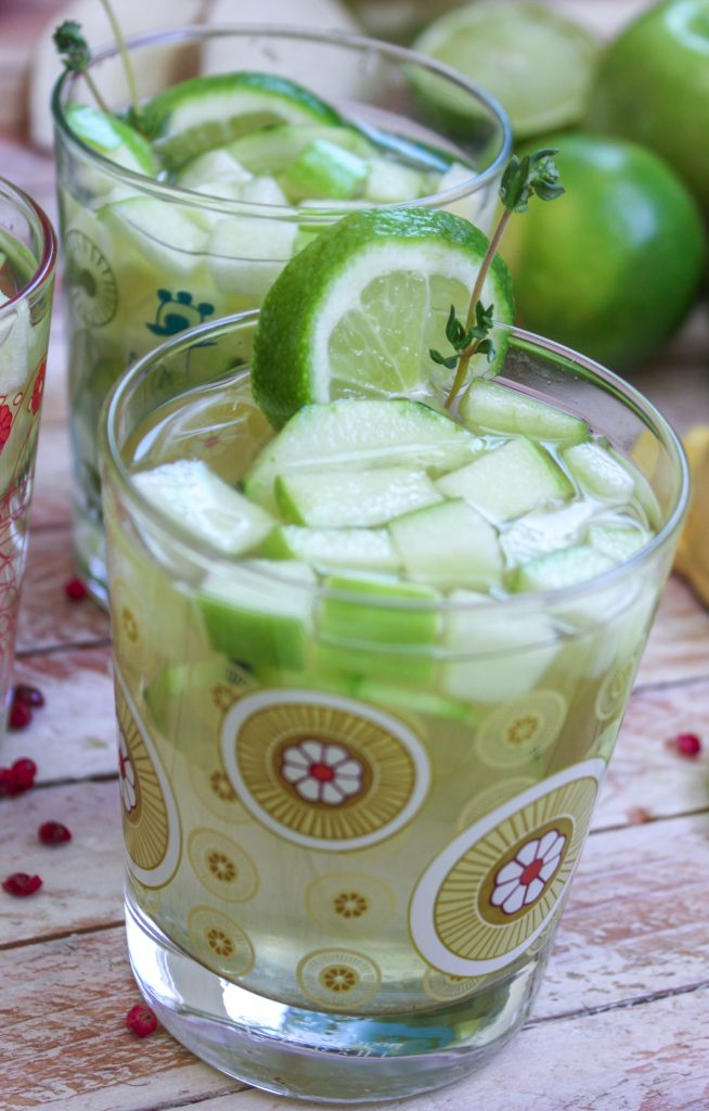 Cucumber Thyme Sangria 4 1