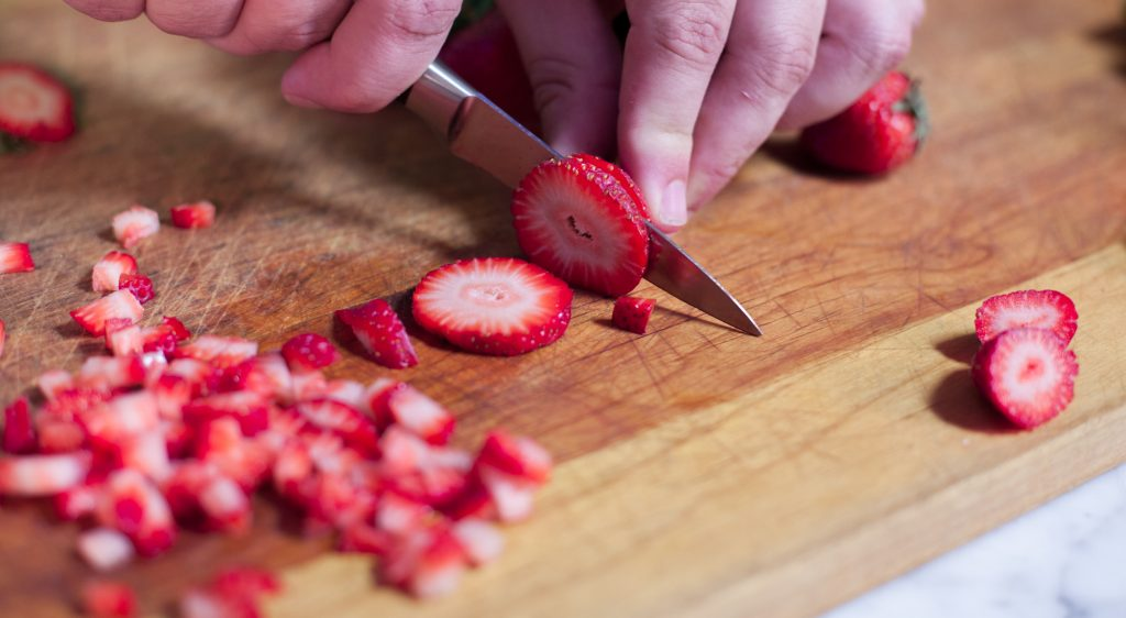Diced Strawberries 1