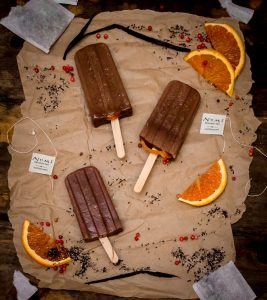 Earl Grey Chocolate Fudgsicles 1