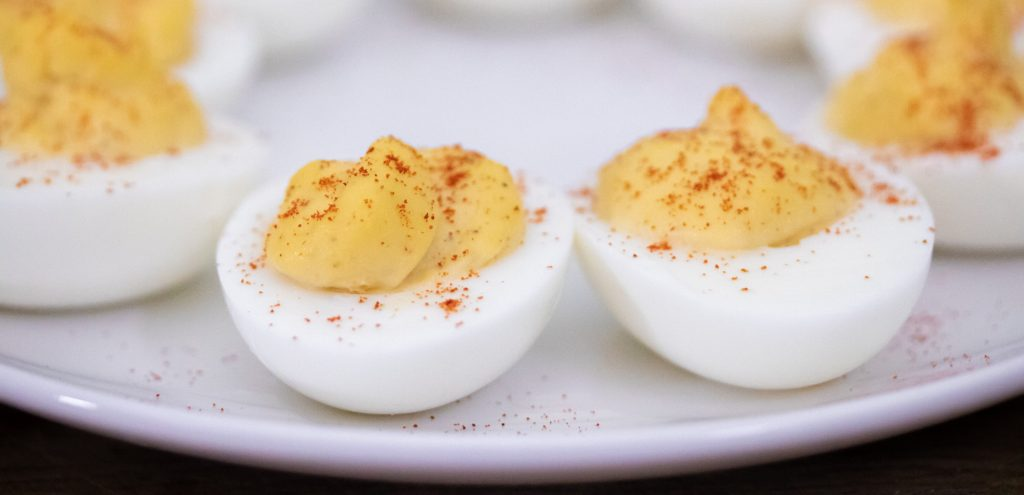 Easy Deviled Eggs 1