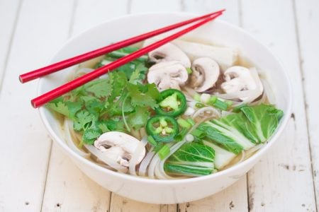 Easy Vegan Pho 3
