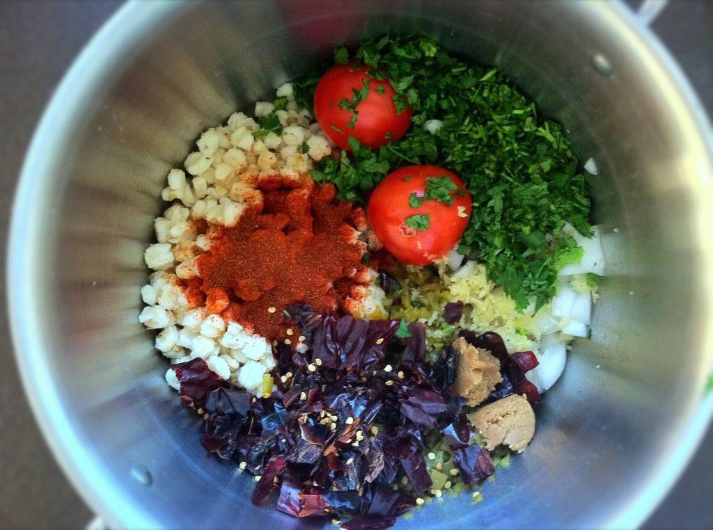 Fall Harvest Vegetarian Pozole 1 1